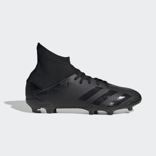 Predator 20.3 Firm Ground Voetbalschoenen Core Black / Core Black / Solid Grey EF1929