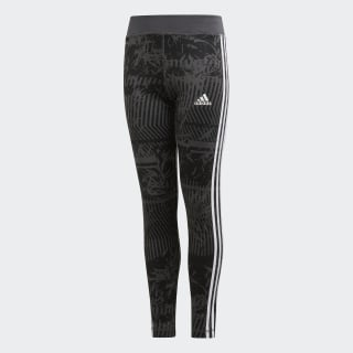 Training Equipment 3-Stripes Leggings Grey Six / Black / White DV2756