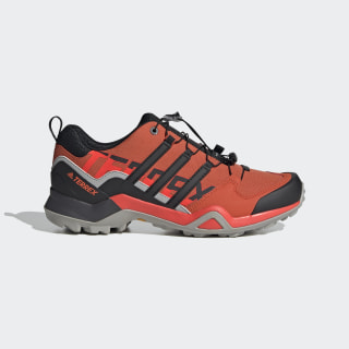 Terrex Swift R2 Hiking Shoes Glory Amber / Core Black / Solar Red EF4628