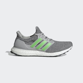 Ultraboost Shoes Grey Two / Shock Lime / Grey Four F35235
