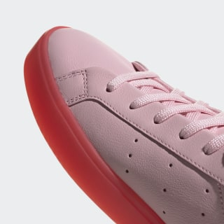 new arrival 9dd7f 728cd adidas Sleek Shoes Diva   Diva   Red BD7475