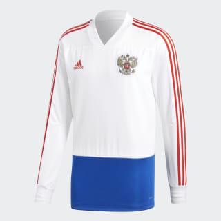 Тренировочный джемпер сборной Россия White / Power Blue / Red CE8776