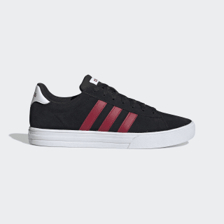 Tênis Daily 2.0 Core Black / Active Maroon / Cloud White EE7804