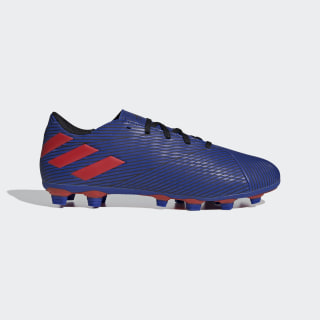 Nemeziz Messi 19.4 Flexible Ground Cleats Team Royal Blue / Active Red / Core Black FW8402