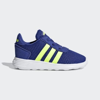 Tenis Lite Racer Inf active blue/hi-res yellow/ftwr white F35647