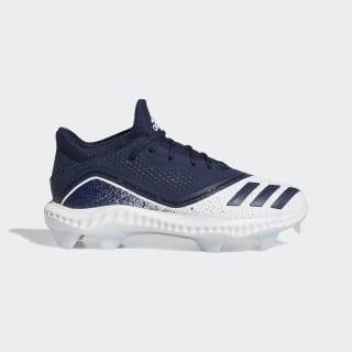 Icon V Bounce TPU Cleats Collegiate Navy / Collegiate Navy / Glow Blue G28310