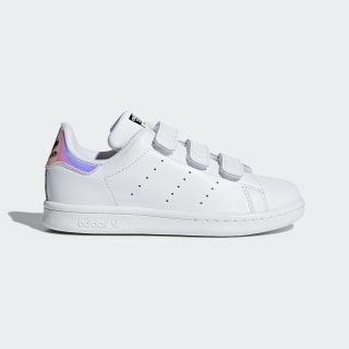 Stan Smith Shoes Metallic Silver / Metallic Silver / Cloud White AQ6273