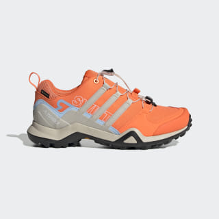 Terrex Swift R2 GTX Shoes Hi-Res Coral / Clear Brown / Glow Blue G26559