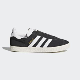 Gazelle Shoes Dark Grey Heather/Footwear White/Gold Metallic BB2503