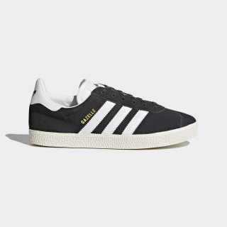 Zapatilla Gazelle Dark Grey Heather/Footwear White/Gold Metallic BB2503