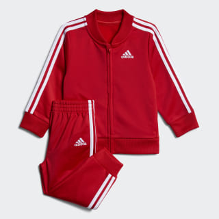 Tricot Jacket and Joggers Set Scarlet CM6648