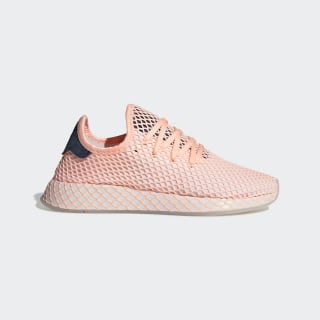 Tênis Deerupt Runner clear orange / ftwr white / collegiate navy DB3600