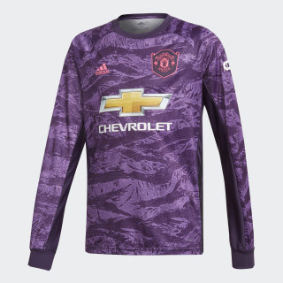 Maglia Home Goalkeeper Manchester United Legend Purple DX8939