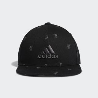 Flat-Bill Hat Black FL5658