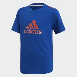Camiseta com Marca Athletics Sport ID collegiate royal / active red DV1693