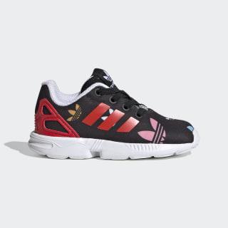 Sapatos ZX Flux Core Black / Lush Red / Cloud White FV3107