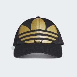 Gorra Trifolio Adicolor Black / Gold Metallic FT8922