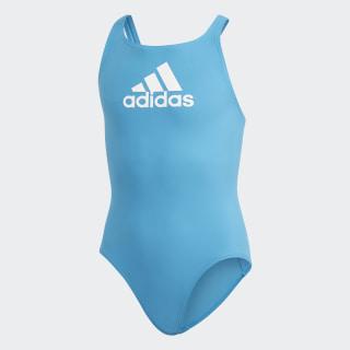 Badge of Sport Swimsuit Shock Cyan / White FL8656