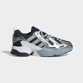 Кроссовки EQT Gazelle collegiate navy / grey two f17 / ash grey s18 EE7746