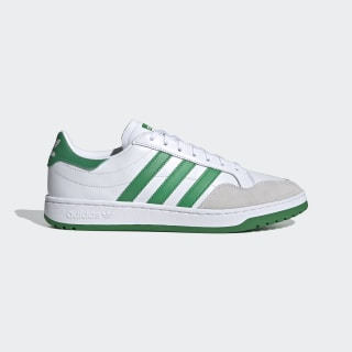 Team Court Schuh Cloud White / Green / Core Black EF6052