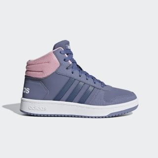 Hoops 2.0 Mid Shoes Raw Indigo / Tech Ink / True Pink F35099