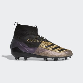 Adizero 8.0 SK Cleats Core Black / Gold Metallic / Grey Six D97643