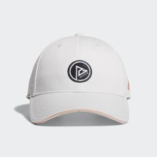 หมวกแก๊ป Dot Logo White CL6690