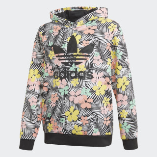 Culture Clash Hoodie Black / Multicolor / Glory Pink FM6714