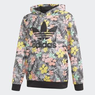 Sweat-shirt à capuche Culture Clash Black / Multicolor / Glory Pink FM6714
