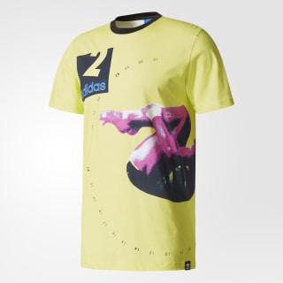 Camiseta Archive Catalog Yellow/White/Multicolor BR1573