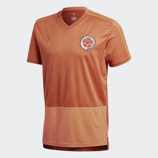 Camiseta de Entrenamiento Selección Colombia Tactile Red / Solar Red CE6642