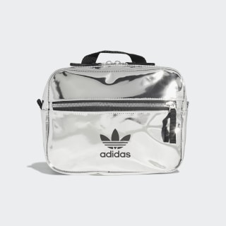 Mini Airliner Backpack Silver Metallic ED5881