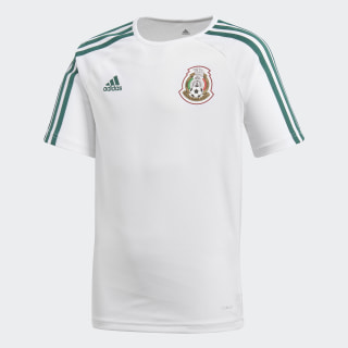 Playera México de Visitante Fan 2018 White / Collegiate Green BP5530