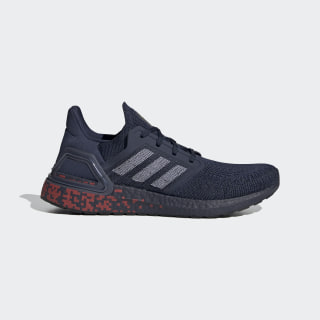 Кроссовки для бега Ultraboost 20 Collegiate Navy / Cloud White / Gold Metallic EG0706