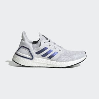 Tênis Ultraboost 20 Dash Grey / Boost Blue Violet Met. / Core Black EG0715