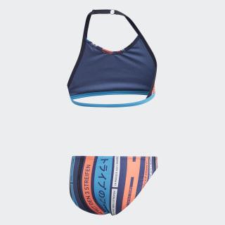 Graphic Bikini Shock Cyan / White FL8662