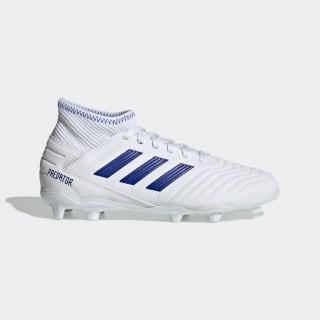 Футбольные бутсы Predator 19.3 FG Cloud White / Bold Blue / Bold Blue CM8535