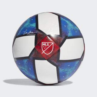 Ballon MLS Top Capitano White / Black / Football Blue / Active Red DN8696