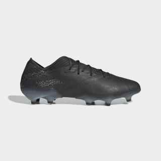 Bota de fútbol Nemeziz 19.1 césped natural seco Core Black / Core Black / Solid Grey EG7326