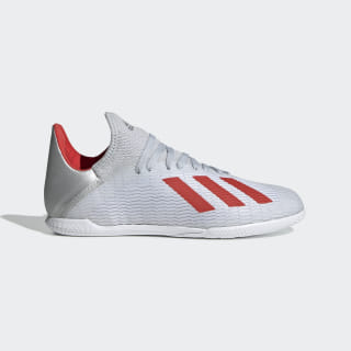 Guayos X 19.3 Futsal Silver Met. / Hi-Res Red / Ftwr White F35355