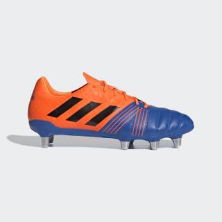 Zapatillas de Rugby Kakari Terreno Suave blue/core black/solar orange F36348