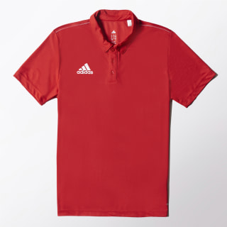 Polo Core 15 Climalite POWER RED/WHITE M35320