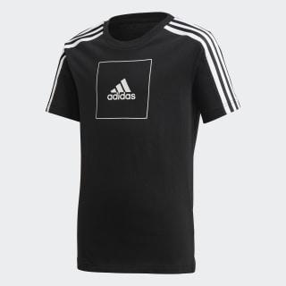 T-shirt adidas Athletics Club Black / Black / White FM4841