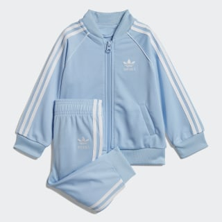 SST Track Suit Clear Sky / White DV2827
