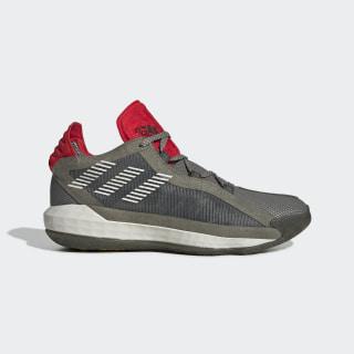 Dame 6 Schuh Legacy Green / Orbit Grey / Red EF9867
