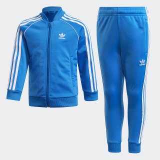 SST Track Suit Bluebird / White EJ9376