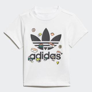 Camiseta Sushi White / Black / Multicolor FM4874