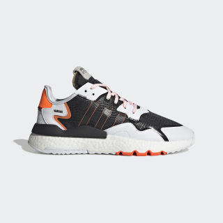 Nite Jogger Shoes Cloud White / Core Black / Solar Orange FU6842