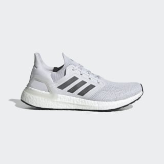 Ultraboost 20 Shoes Dash Grey / Grey / Solar Red EG0694