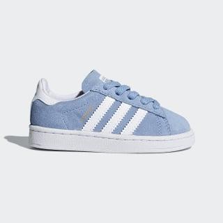 Campus Shoes Ash Blue / Cloud White / Cloud White DB1353